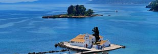 Corfu, the island that fascinated poets and kings