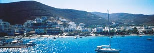 Kythnos, an island ideal for relaxing holidays