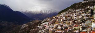 metsovo, a touristic destination with traditional character