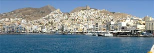 Syros, an ideal place