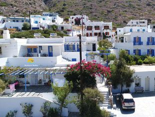 Vacation Packages: Web Site of Boufounis Studios in Sifnos
